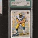 KURT WARNER - 1999 Pacific Paramount NNO RC -Graded 10 GEM MINT - Rams, Cardinals & Northern Iowa