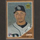 DESMOND JENNINGS 2011 Topps Heritage Chrome Rookie - Tampa Bay Rays
