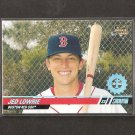 JED LOWRIE 2008 Stadium Club First Day Issue Rookie - Red Sox