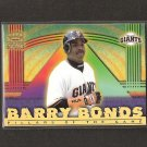 BARRY BONDS - 1999 Pacific Crown Royale Pillars of the Game - Giants