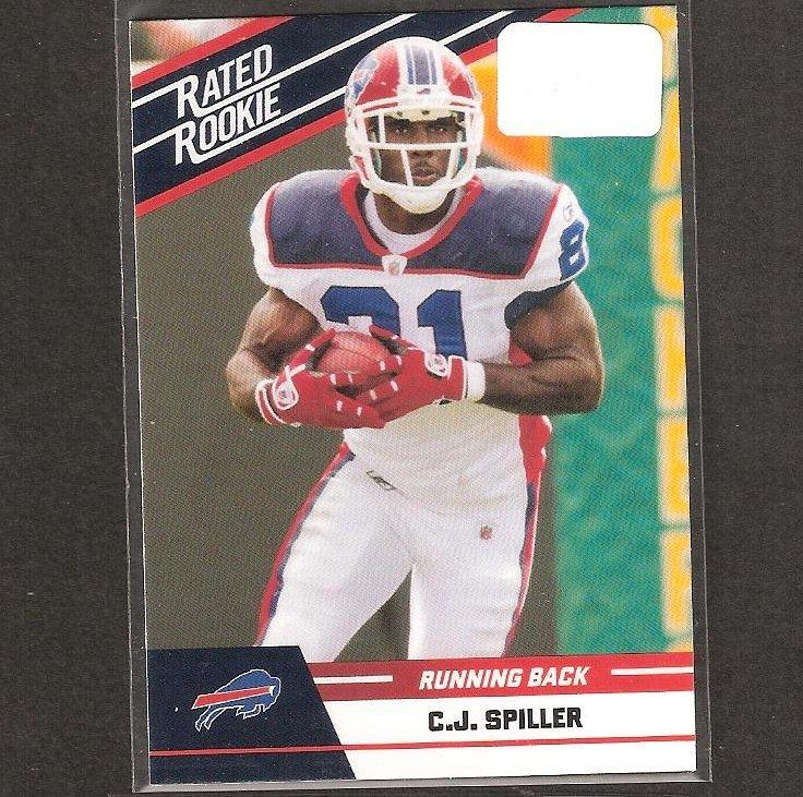 CJ SPILLER - 2010 Donruss Rated Rookie - Bills & Clemson Tigers