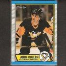 JOHN CULLEN 1988-89 OPC O-Pee-Chee - Penguis, Whalers & BU Terriers