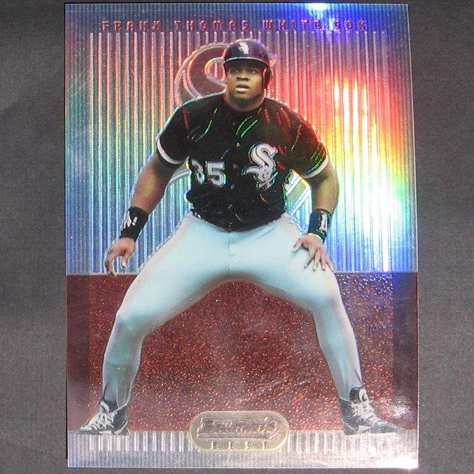 FRANK THOMAS - 1995 Bowman's Best Refractor JUMBO CARD - Chicago White Sox