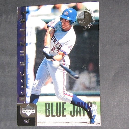 JOSE CRUZ JR. - 1998 Upper Deck Blow-Ups - Blue Jays