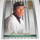 ALEX RODRIGUEZ - 1997 Studio 8x10 Portrait - Mariners & Yankees