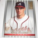 GREG MADDUX - 1997 Studio 8x10 Portrait - Atlanta Braves