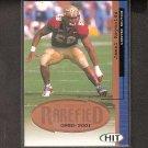 JAMAL REYNOLDS 2001 Hit Rarefied ROOKIE - Packers & Florida State Seminoles