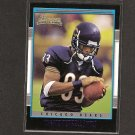 DAVID TERRELL 2001 Bowman ROOKIE - Bears & Michigan Wolverines