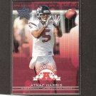 ATNAF HARRIS 2002 Leaf Rookies & Stars Short Print RC - Texans & Fresno State Bulldogs