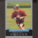 JEFF SMOKER 2004 Bowman ROOKIE - Rams & Michigan State Spartans