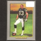 VINCENT JACKSON 2005 Turkey Red Rookie - Chargers & Northern Colorado