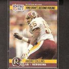 ANDRE COLLINS 1990 Pro Set Rookie - Redskins & Penn State Nittany Lions