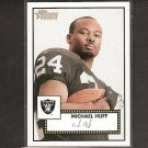 MICHAEL HUFF 2006 Topps Heritage Red Back Rookie - Bears, Raiders & Texas Longhorns