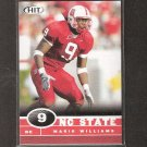 MARIO WILLIAMS 2006 Sage Hit Rookie - Texans & NC State Wolfpack