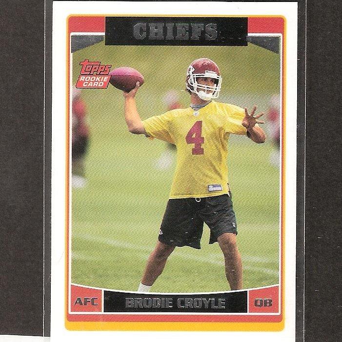 Brodie Croyle Nfl Brodie Croyle 2006 Topps
