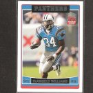 DeANGELO WILLIAMS 2006 Topps Rookie - Panthers & Memphis Tigers