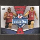 CAM NEWTON & BLAINE GABBERT 2011 Topps Rookie Rising Combine Competition - Jaguars & Panthers