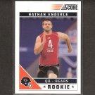 NATHAN ENDERLE 2011 Score Glossy Rookie - Bears & Idaho Vandals