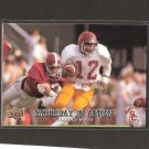 CHARLES WHITE 2011 Upper Deck Saturday in Action - USC Trojans
