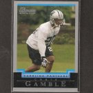 CHRIS GAMBLE 2004 Bowman ROOKIE - Panthers & Ohio State Buckeyes