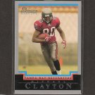 MICHAEL CLAYTON 2004 Bowman ROOKIE - Buccaneers, Giants & LSU Tigers