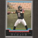 MATT SCHAUB 2004 Bowman ROOKIE - Falcons, Texans & Virginia Cavaliers