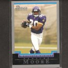 MEWELDE MOORE 2004 Bowman ROOKIE - Vikings, Steelers & Tulane Green Wave