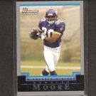 MEWELDE MOORE 2004 Bowman ROOKIE - Vikings, Steelers & Tulane Green Wave