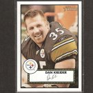 DAN KREIDER - 2006 Topps Heritage Short Print - Steelers & New Hampshire