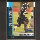 QUENTIN JAMMER 2002 Bowman ROOKIE - Chargers & Texas Longhorns