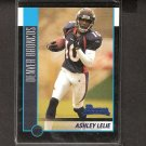 ASHLEY LELIE 2002 Bowman ROOKIE - Broncos & Hawaii Warriors