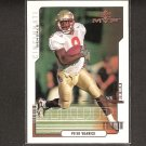 PETER WARRICK 2000 Upper Deck MVP ROOKIE - Bengals & Florida State Seminoles