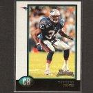 TEBUCKY JONES 1998 Bowman ROOKIE - Patriots & Syracuse Orangemen