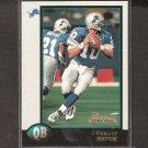 CHARLIE BATCH 1998 Bowman ROOKIE - Lions, Steelers & Eastern Michigan