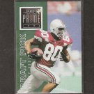 RICKEY DUDLEY - 1996 Playoff Prime SILVER Uncommon Rookie - Raiders & Ohio State Buckeyes