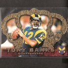 TONY BANKS - 1996 Crown Royale Rookie - Rams & Michigan State Spartans
