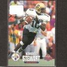 KORDELL STEWART 1995 Classic Draft Rookie - Steelers & Colorado Buffaloes