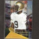 CHARLES JOHNSON - 1994 Pinnacle Trophy Parallel Rookie - Steelers & Colorado Buffaloes