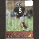 CHARLES JOHNSON - 1994 Pinnacle Draft DUFEX Rookie - Steelers & Colorado Buffaloes