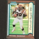 MICHAEL BASNIGHT 1999 Bowman Chrome Refractor RC - Bengals & North Carolina A&T