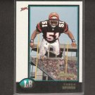 TAKEO SPIKES - 1998 Bowman RC - Bengals, 49ers & Auburn Tigers