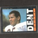 RICHARD DENT - 1985 Topps RC - Bears & Tennessee State