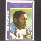 TOM JACKSON - 1978 Topps Rookie Card - Broncos & Louisville Cardinals