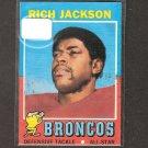 RICH JACKSON - 1971 Topps - Broncos & Southern University