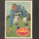 JIM PARKER - 1960 Topps - Colts & Ohio State Buckeyes