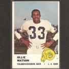 OLLIE MATSON - 1961 Fleer - Rams & San Francisco