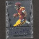 RONALD JOHNSON - 2011 Leaf Draft Autograph ROOKIE - USC Trojans & 49ers