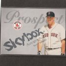 KEVIN YOUKILIS - 2004 Skybox Autographics RC - Boston Red Sox #106/150