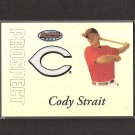 CODY STRAIT - 2007 Bowman's Best Rookie Card - Red Sox #145/499