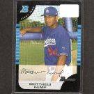 MATT KEMP - 2005 Bowman Rookie Card - LA Dodgers